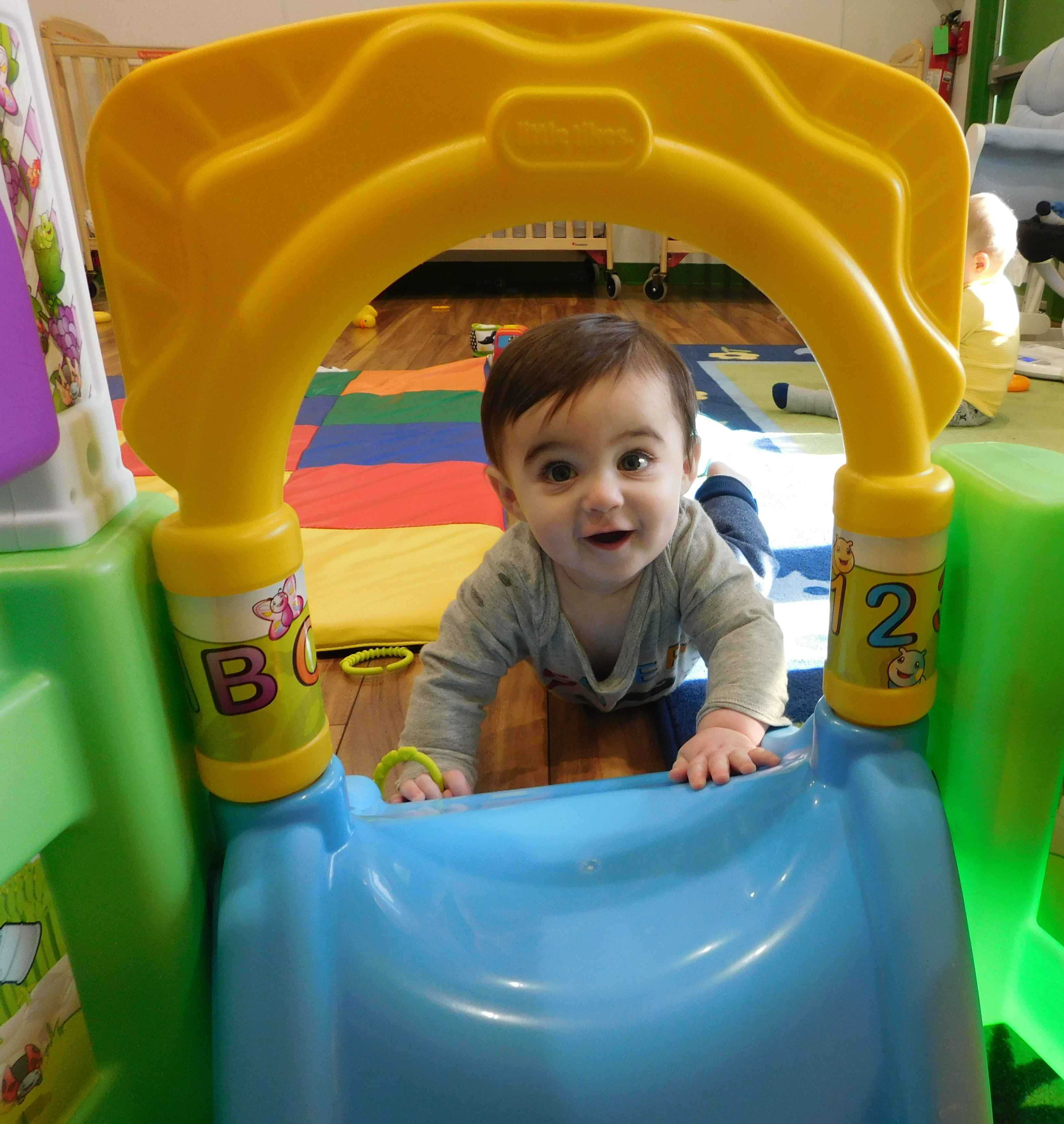 Infant tunnel Apple Hill Academy Freehold & Howell